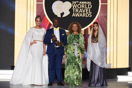 Saint Lucia wins World's Best Honeymoon Destination for the 11th time at the World Travel Awards