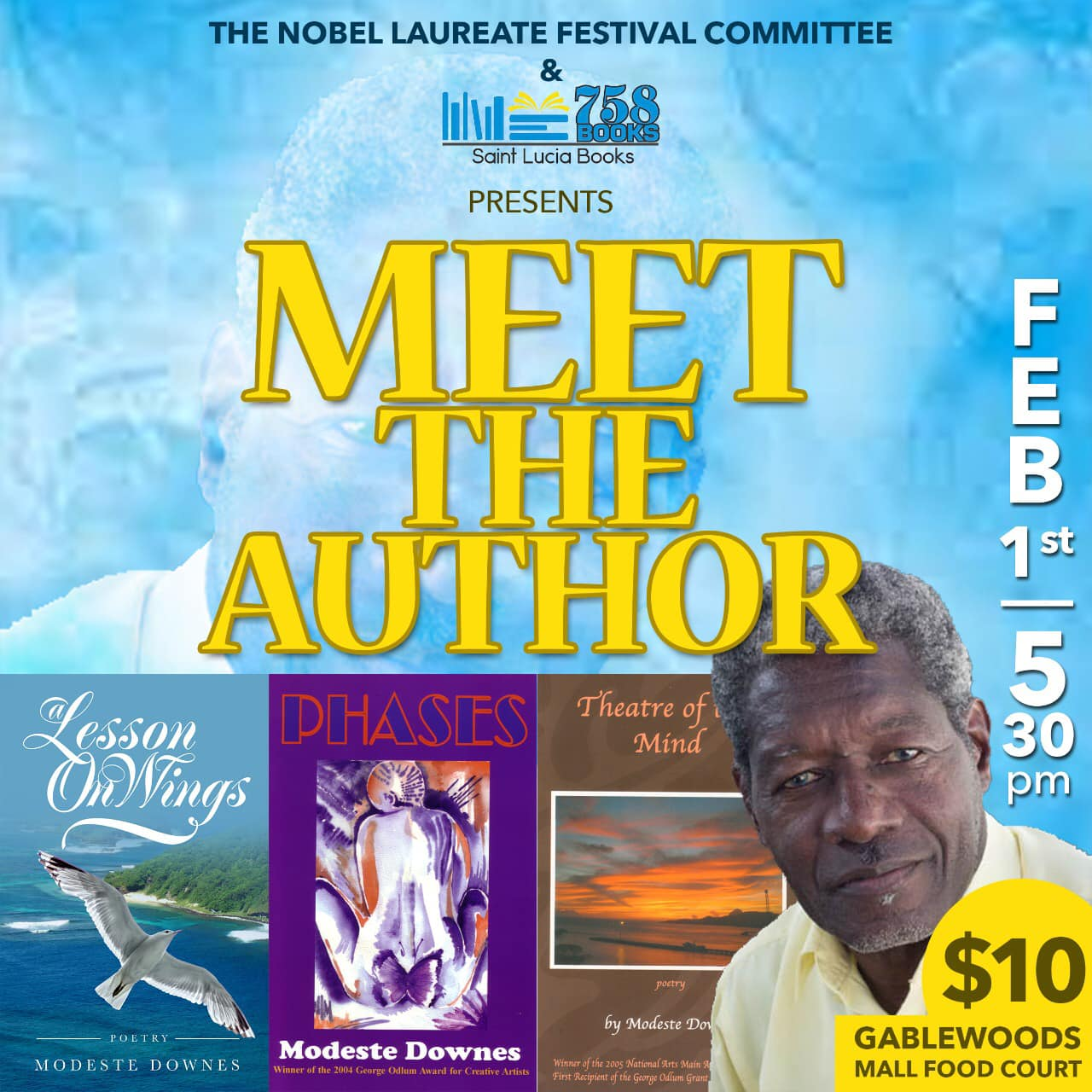 758 Books Cafe Litteraire Gablewoods Mall Meet the author series - modeste downes and friends