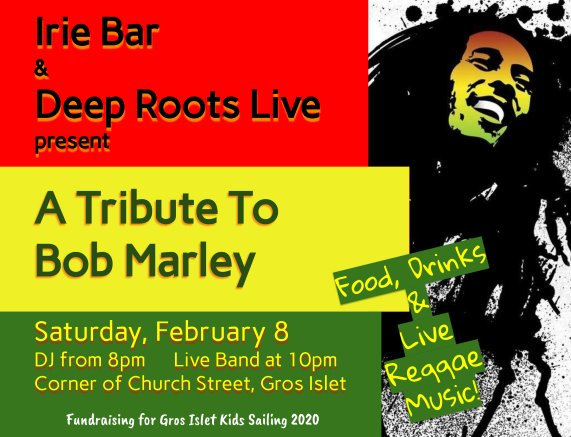 Irie Bar Tribute to Bob Marley