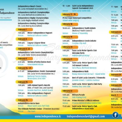 41st Anniversary of Independence Saint Lucia