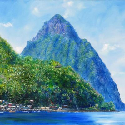 Plein Air Painting, Soufriere
