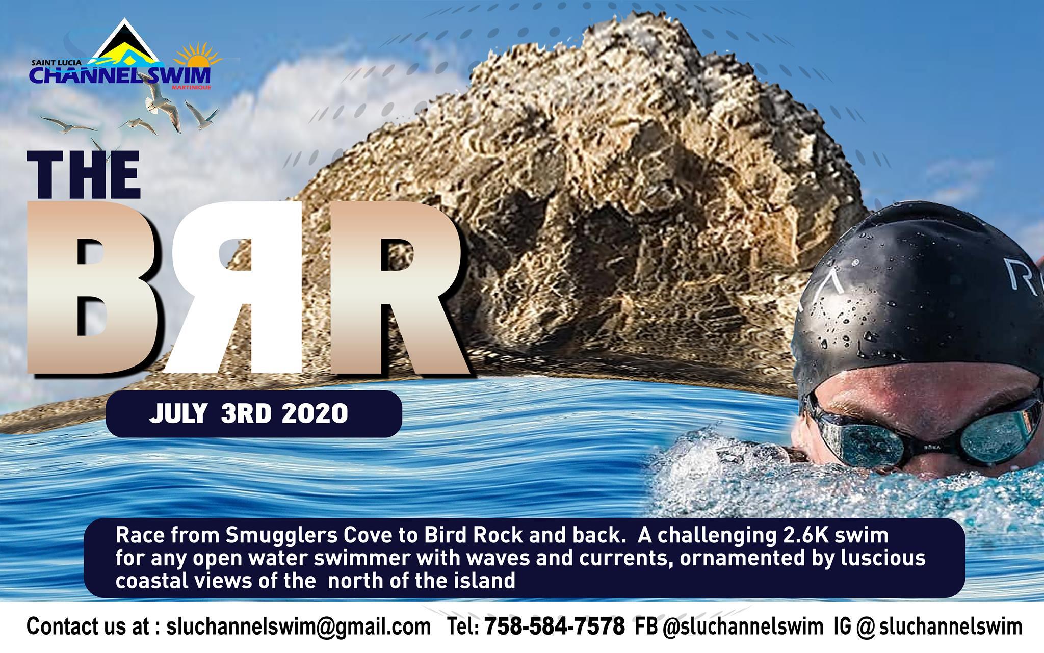 The Brr 2020 2.6k swim challenge