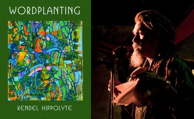 wordplanting by poet kendel hippolyte - booksigning, performances and more at ti-tak cafe in soufriere