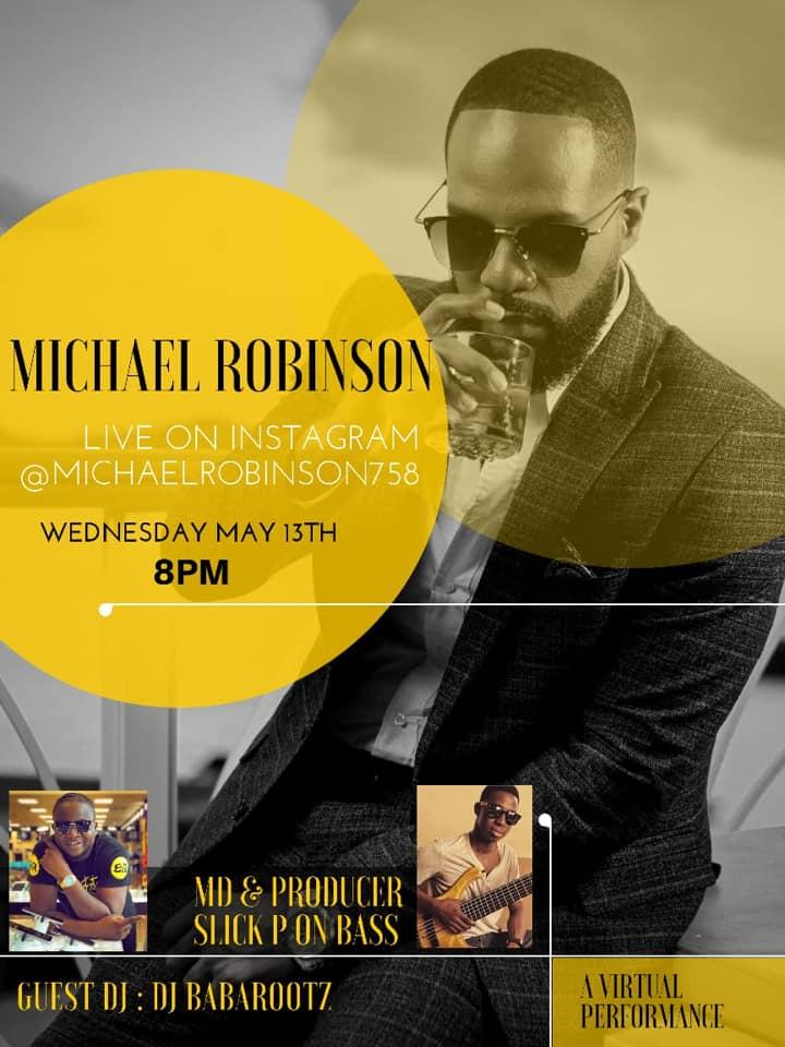 Michael Robinson live
