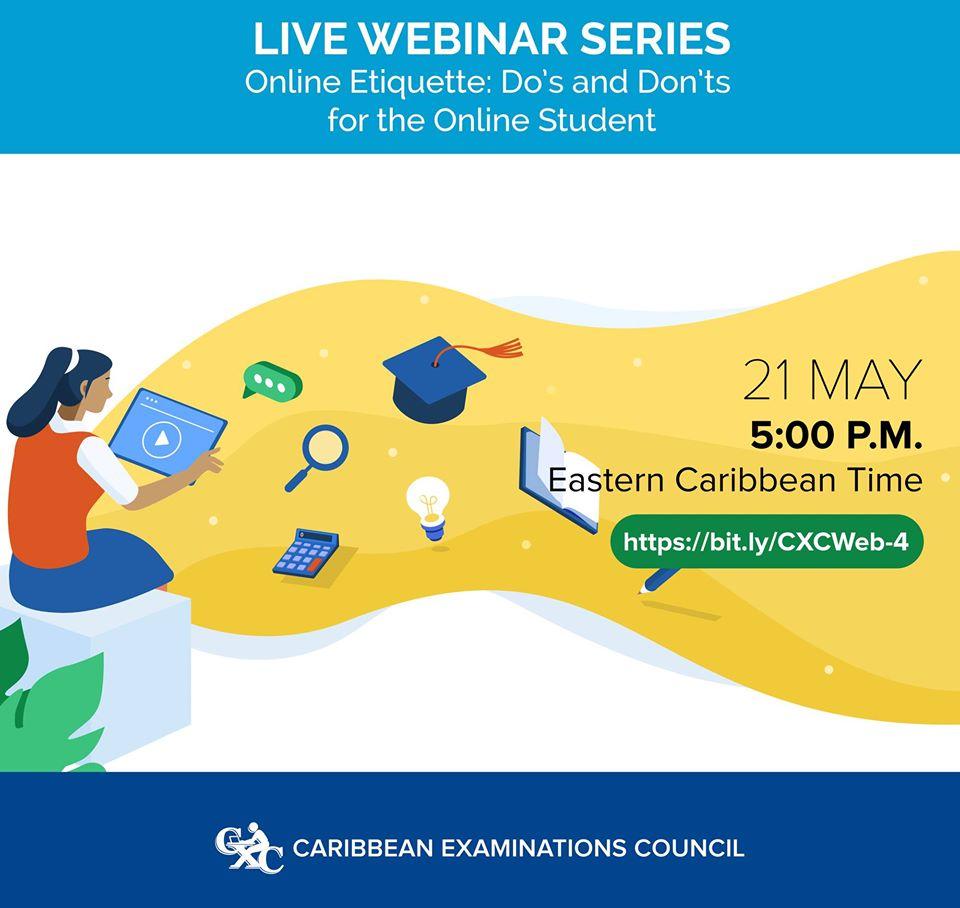 Online ettiquette for Online students CXC