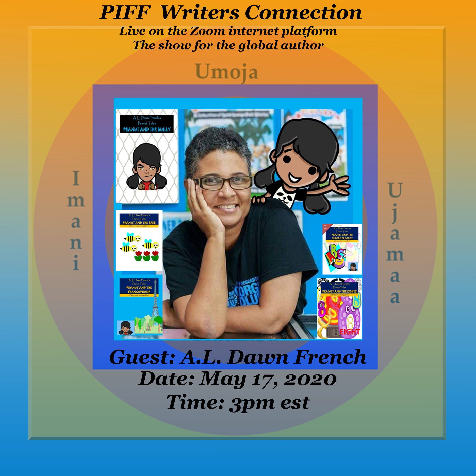 PIFF Writers Connection interviews Lucian Author Dawn French