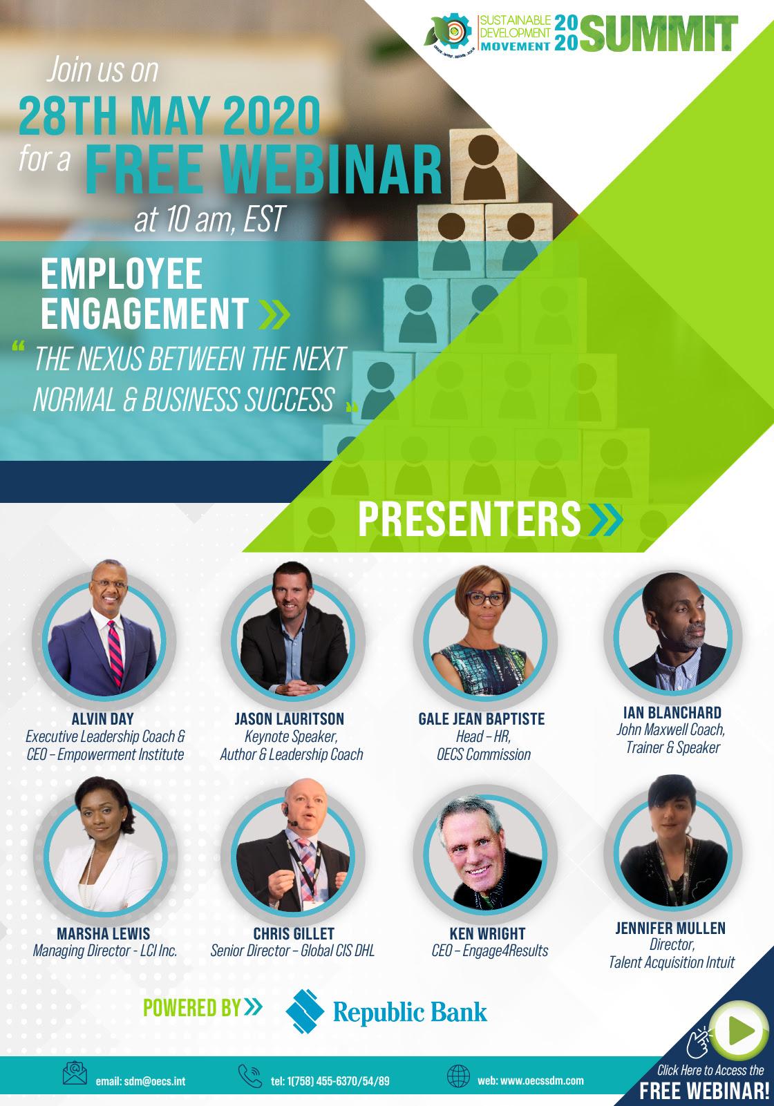 employee engagement the new nexus webinar