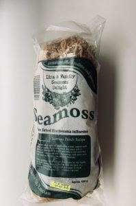 Dried seamoss is easy to prepare as a healthy ingredient or snack, without using heat